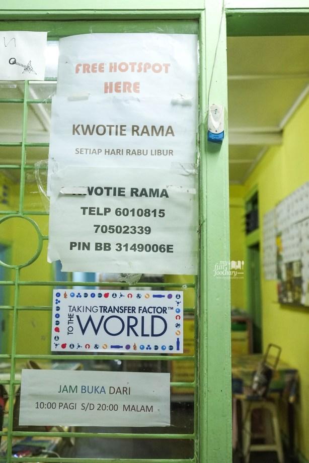 Jam Buka Kwotie Rama Bandung by Myfunfoodiary