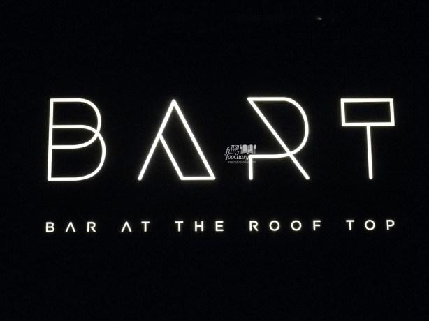 Signboard BART Artotel by Myfunfoodiary