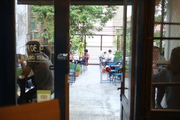 View To The Outdoor at Blue Doors Bandung by Myfunfoodiary