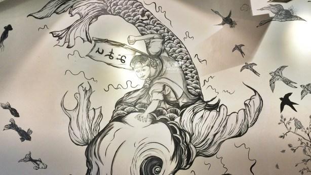 A Story on the Wall at Tomio Japanese Izakaya by Myfunfoodiary
