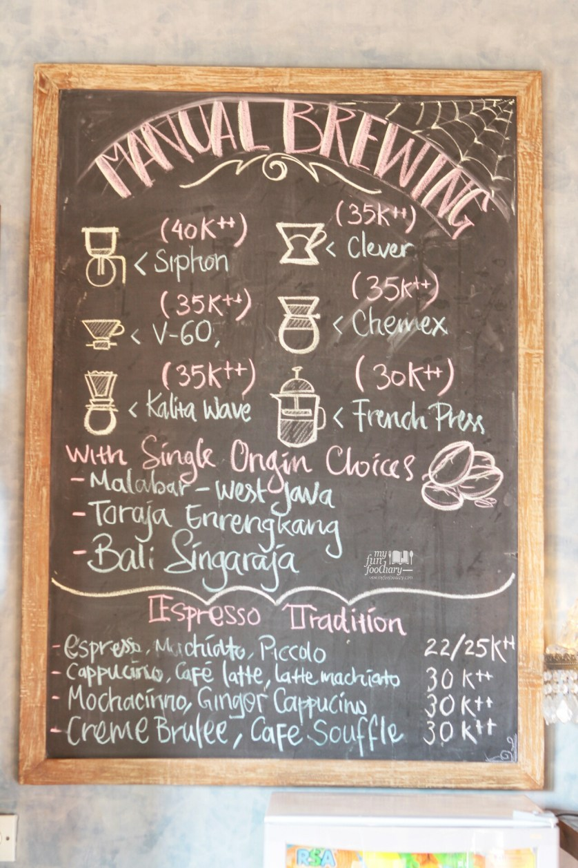 Coffee Pricelist at Petani Restaurant - Alaya Resort Ubud by Myfunfoodiary
