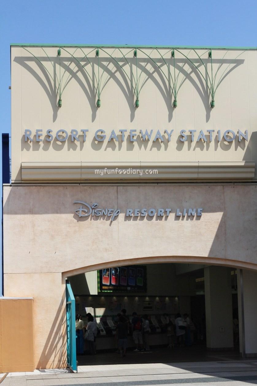 Disney Resort Station by Myfunfoodiary