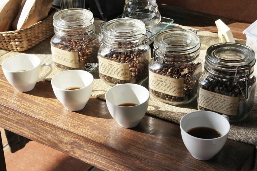 Four types of Balinese Coffee at Petani Restaurant - Alaya Resort Ubud by Myfunfoodiary