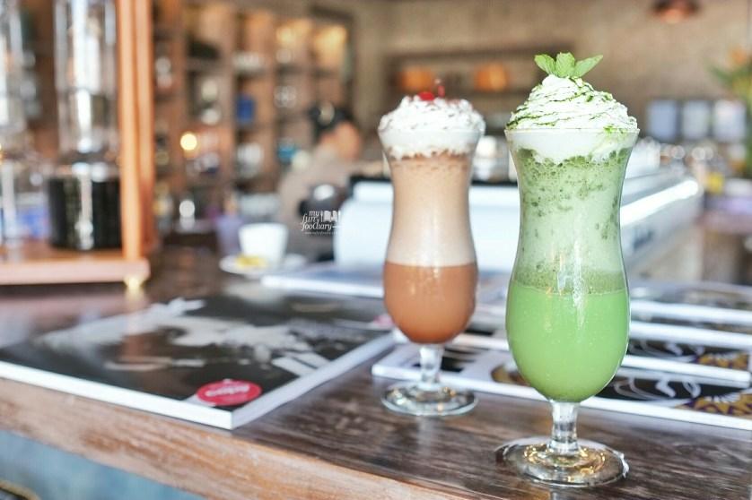 Greentea Frappuccino at Petani Restaurant by Myfunfoodiary