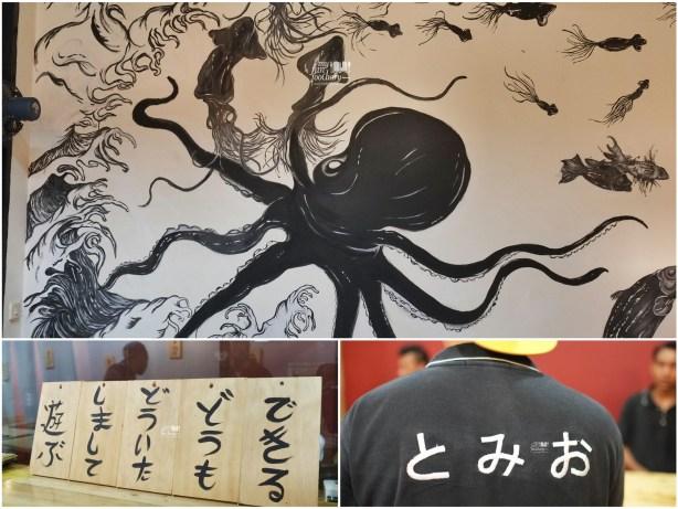 Suasana di dalam at Tomio Japanese Izakaya by Myfunfoodiary