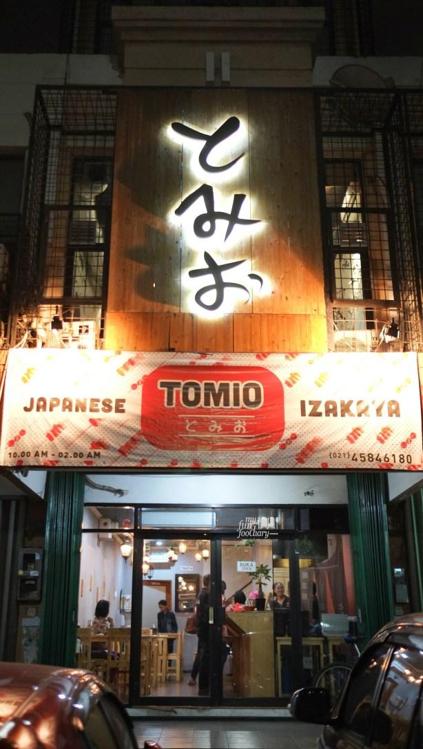 Tampak Depan Tomio Japanese Izakaya by Myfunfoodiary