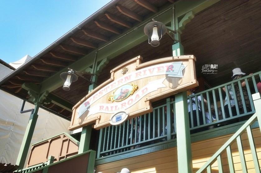Western River Railroad Tokyo Disneyland Japan by Myfunfoodiary