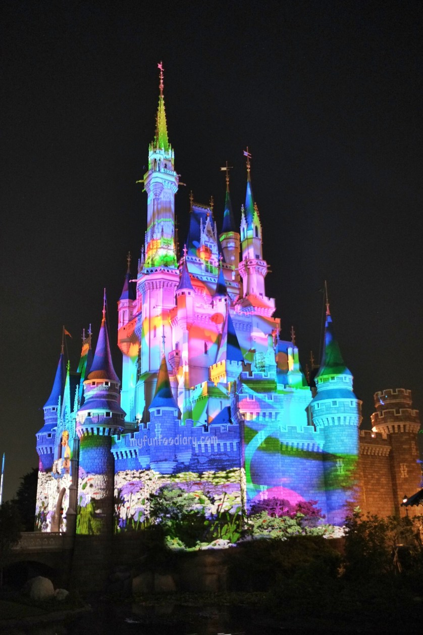 3D Mapping on Cinderella Castle at Tokyo Disneyland by Myfunfoodiary