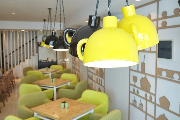 Cute Hanging Lamps at Kamo Kuma Jakarta by Myfunfoodiary