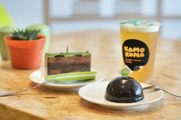 Milo and Dome Cake at Kamo Kuma Jakarta by Myfunfoodiary