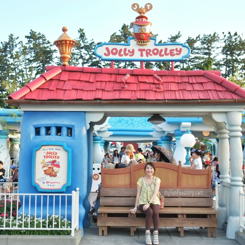 Mullie at Jolly Trolley at ToonTown Tokyo Disneyland by Myfunfoodiary