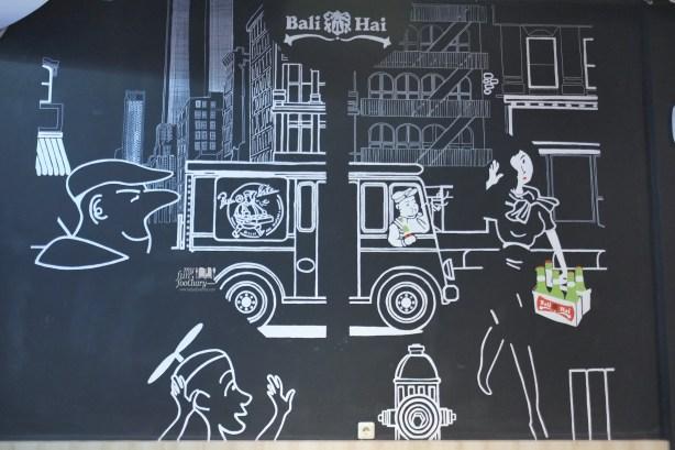 Murals at Bun n Bite Kelapa Gading by Myfunfoodiary