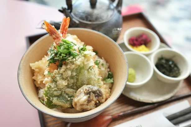 Tempura Chazuke at Wakuwaku Cafe Japan by Myfunfoodiary 02