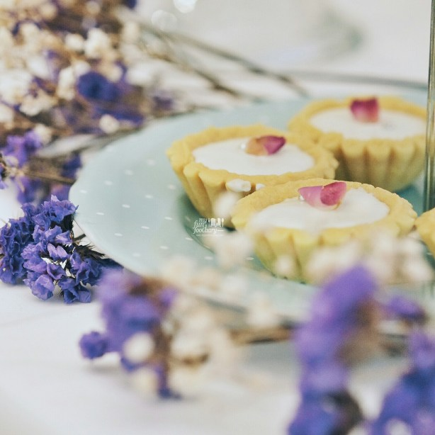 Rose Vanilla Cheese Cake Tart at Veranda Gateau Patisserie by Myfunfoodiary