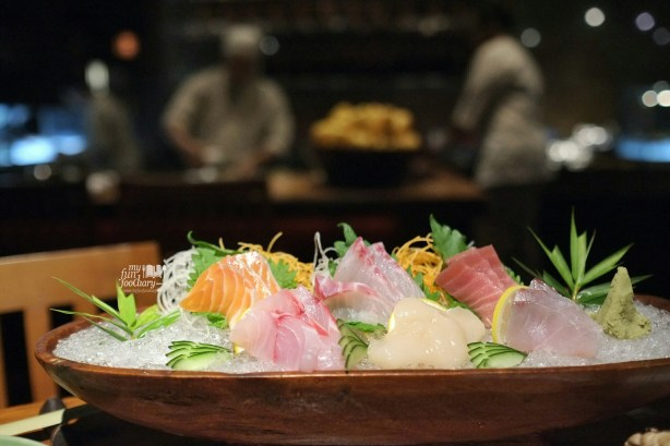 Sashimi Moriawase at Nampu Restaurant Grand Hyatt Bali by Myfunfoodiary