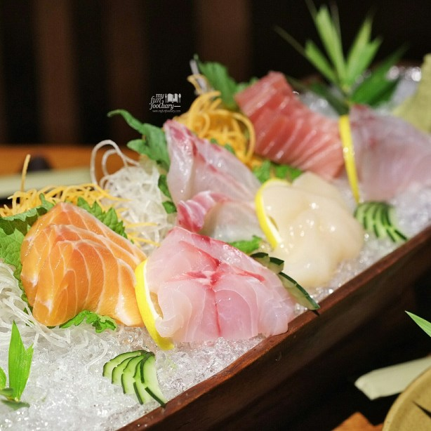 Sashimi Moriawase at Nampu Restaurant Grand Hyatt Bali - by Myfunfoodiary