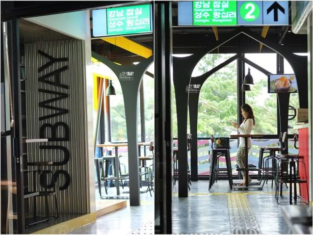 Subway at Pat Bing Soo Korean Dessert House by Myfunfoodiary