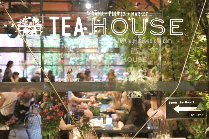 Aoyama Tea House at Aoyama Flower Market in Tokyo Japan by Myfunfoodiary
