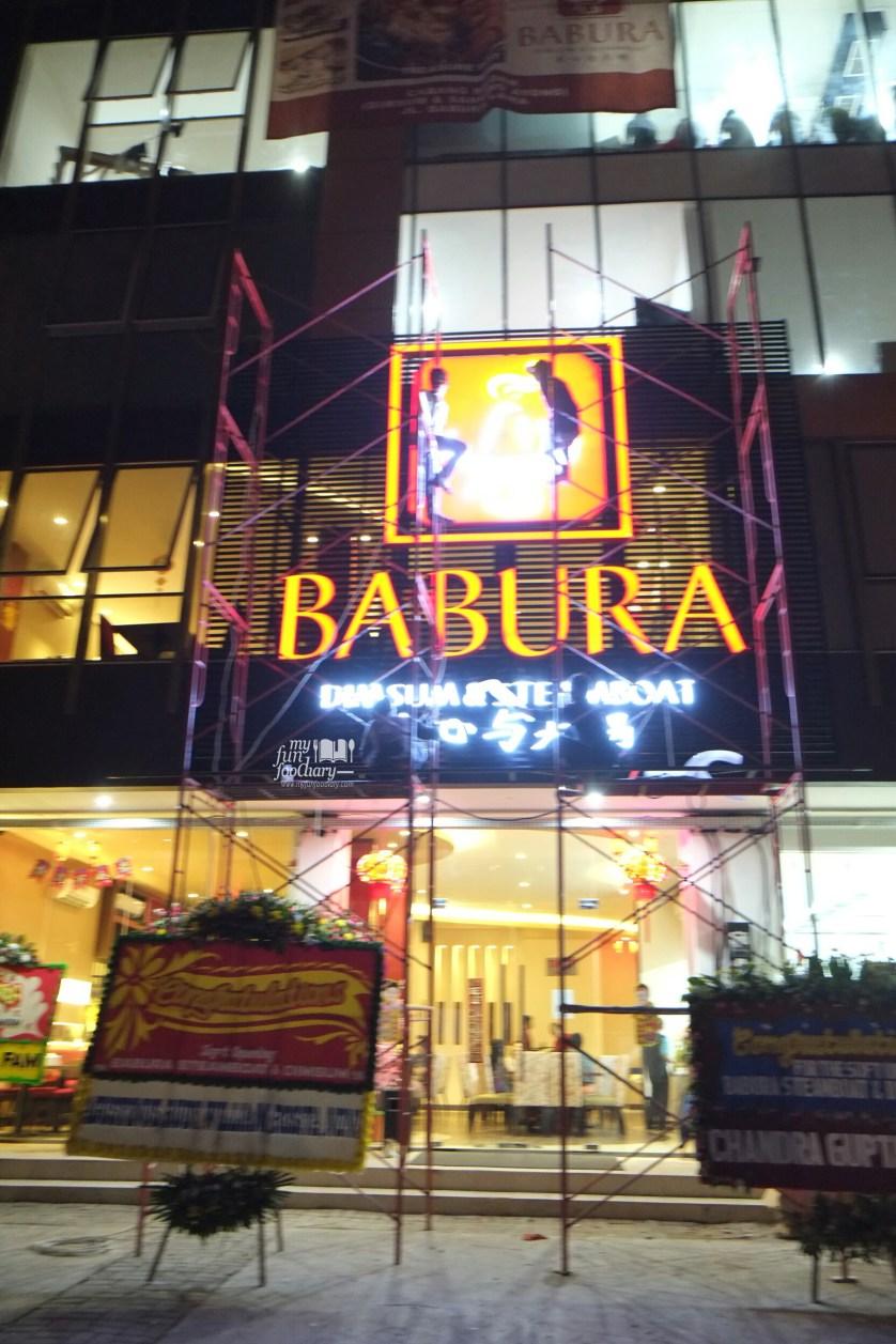 Exterior Look at at Babura Dimsum PIK by Myfunfoodiary