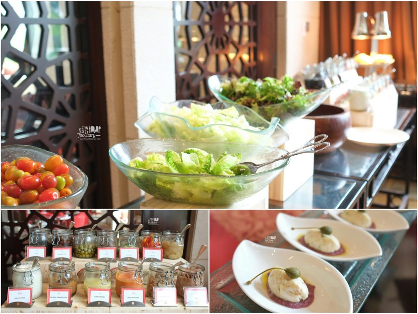 Salad Section and Dressing at Rosso Shangrila Jakarta by Myfunfoodiary