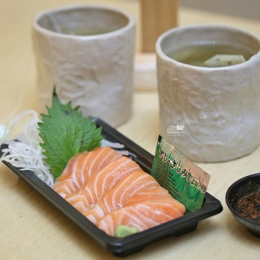 Salmon Sashimi at Roba Yakitori Mall Taman Anggrek by Myfunfoodiary 01