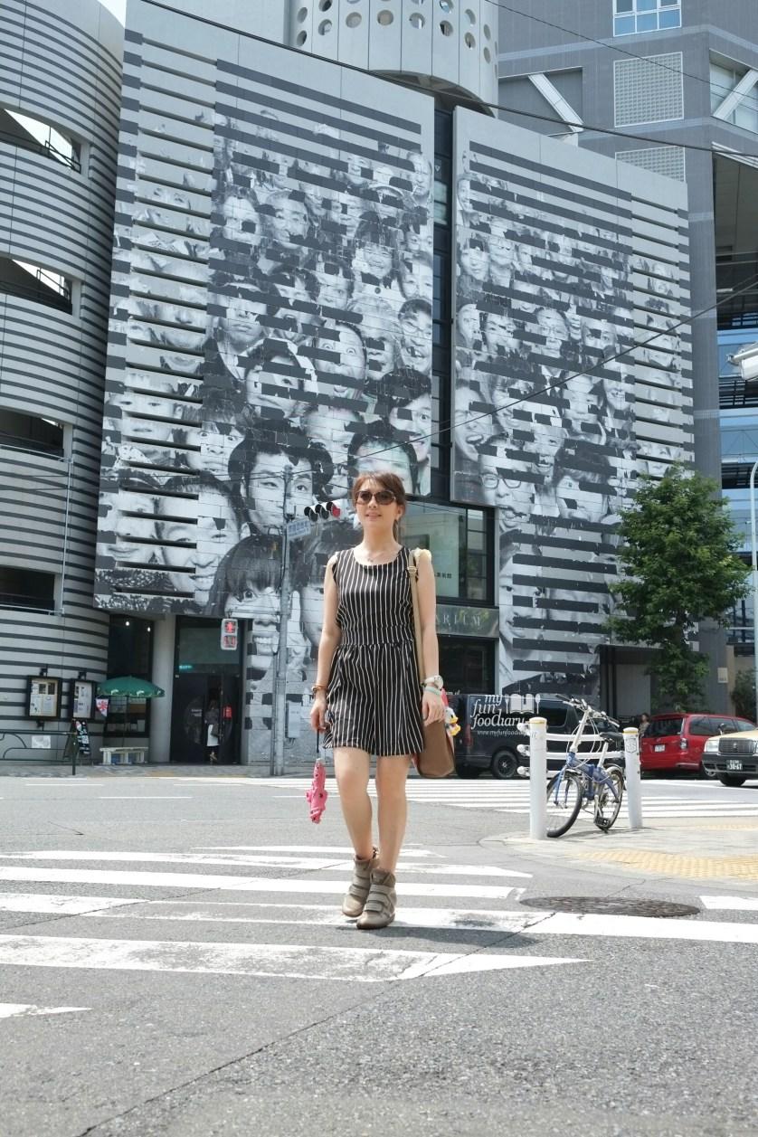 Walking to OSURI Restaurant in Tokyo Japan by Myfunfoodiary
