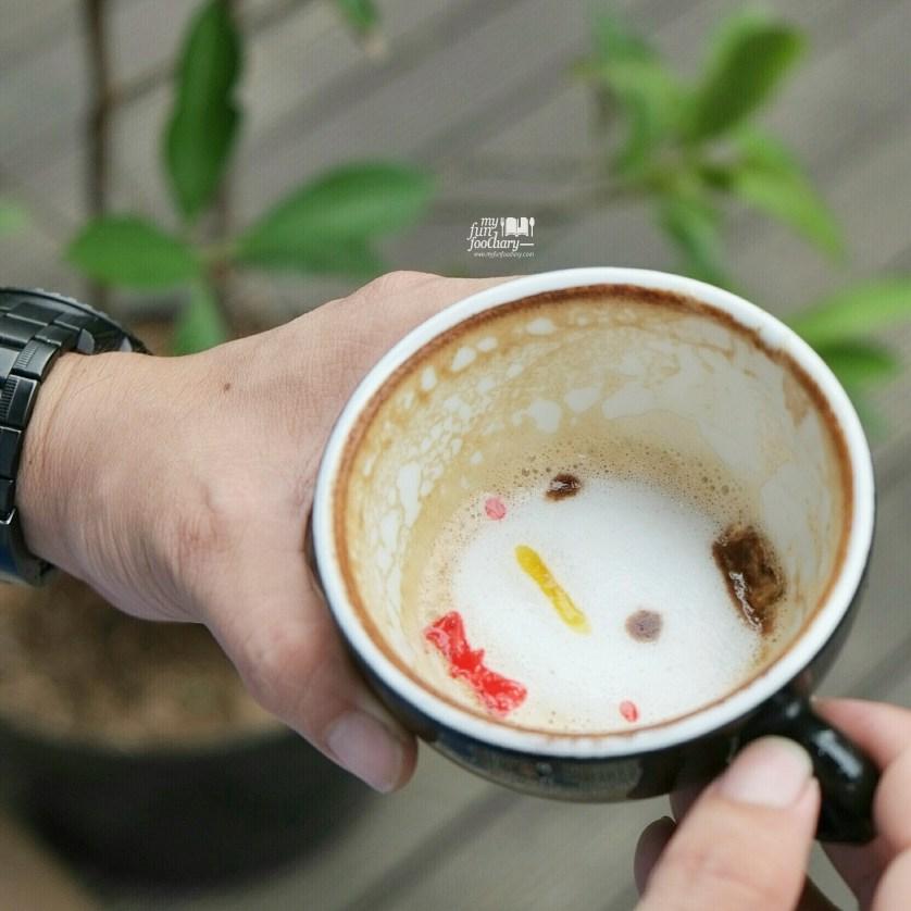 Disney Tsum Tsum Cappuccino at Noahs Barn Coffeenery by Myfunfoodiary