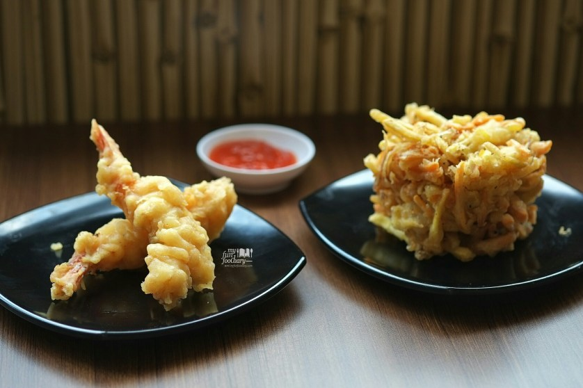 Ebi Tempura dan Kakiage at Hachimitsu Udon dan Donburi by Myfunfoodiary