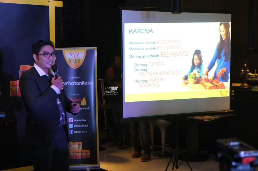 Pak Ahcmad as Head of Marketing at Koepoe Koepoe by Myfunfoodiary