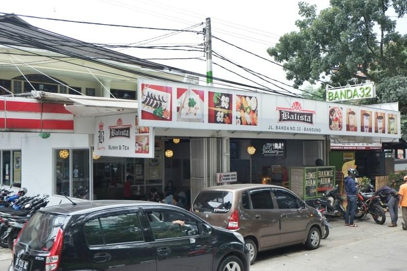 Tampak Depan Balista Cafe by Myfunfoodiary