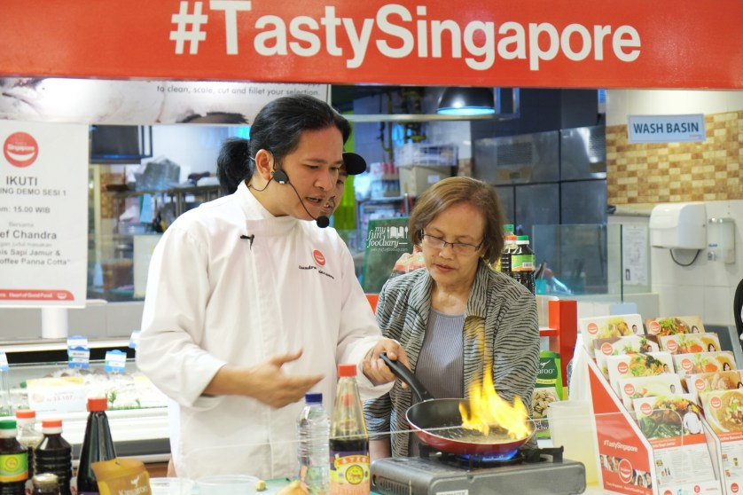 Tasty Singapore Cooking Demo with Chef Chandra by Myfunfoodiary