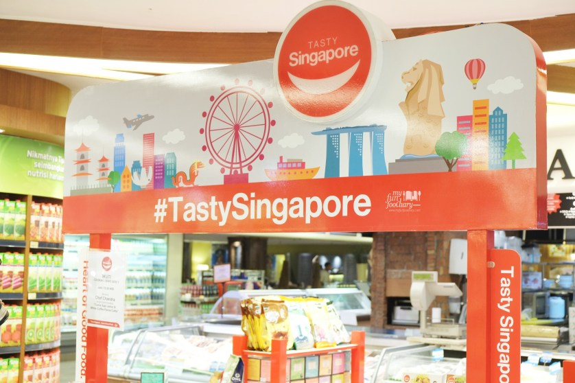 Tasty Singapore Products Singapore Brands at Food Hall Plaza Senayan by Myfunfoodiary