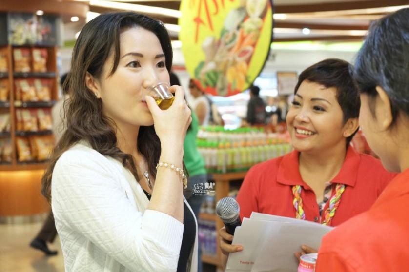 Tried Chamomile Tea by Singapore Brands at Food Hall Plaza Senayan by Myfunfoodiary
