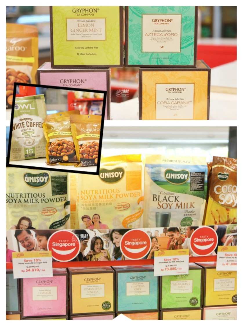 Various Singapore Products at Food Hall Plaza Senayan by Myfunfoodiary