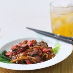 [RECIPE] Black Pepper Beef with Mushroom