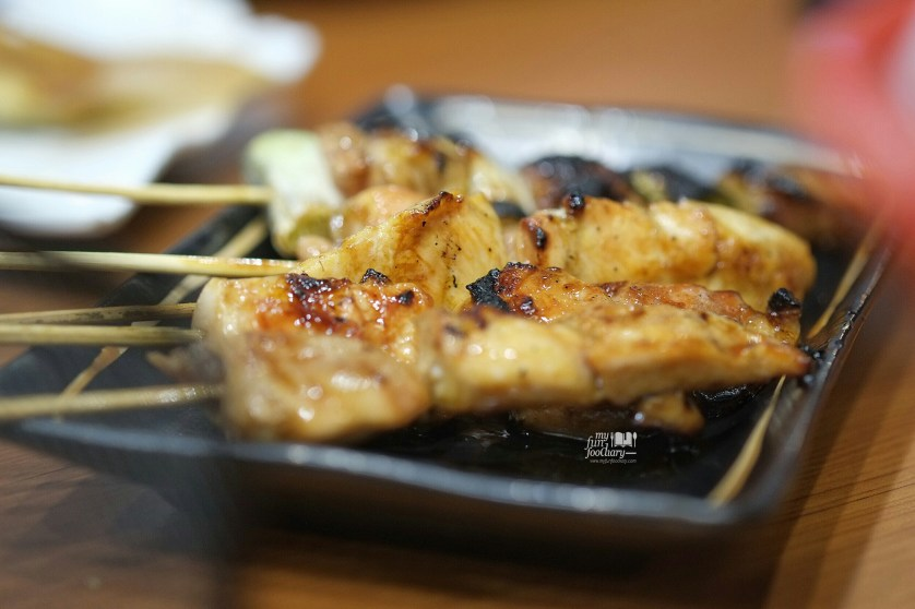 Chicken Yakitori at Bariuma Ramen by Myfunfoodiary