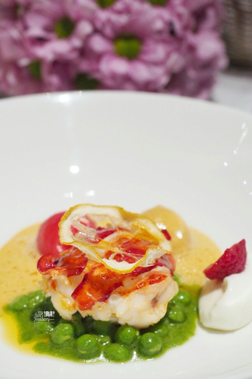 Butter-Poached Lobster at Lyon Restaurant by Myfunfoodiary