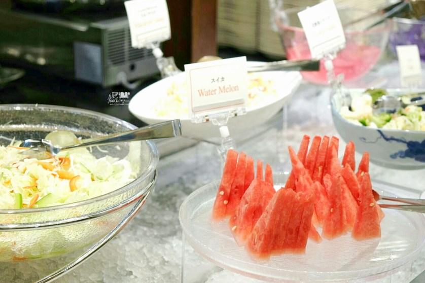 Fresh Fruit and Salad Bar at Kushiya Monogatari by Myfunfoodiary