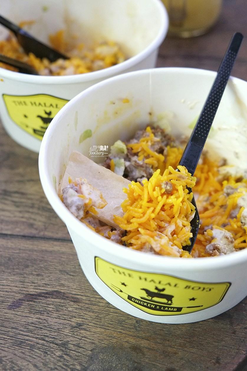 Lamb Rice at The Halal Boys by Myfunfoodiary 02