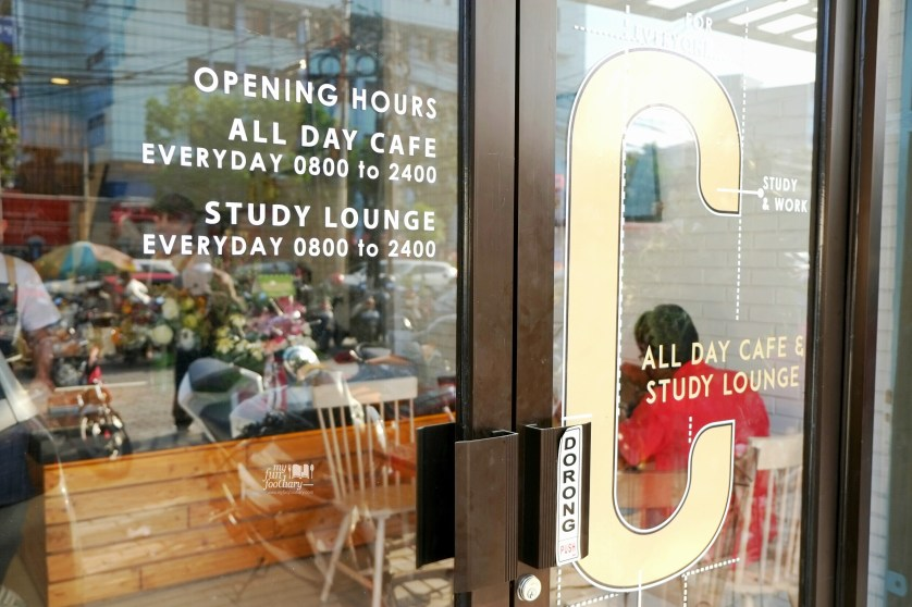 Opening Hours Cafetaria Study Lounge by Myfunfoodiary