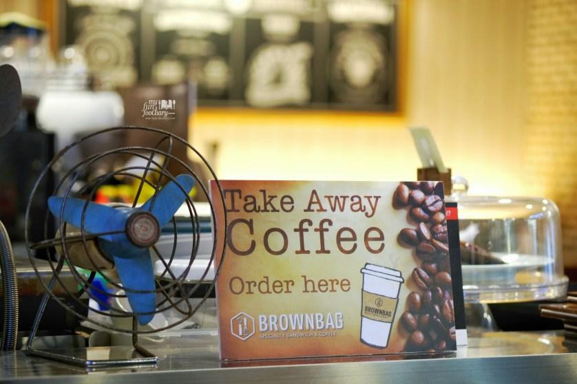 Take Away Counter at Brown Bag Kemang by Myfunfoodiary
