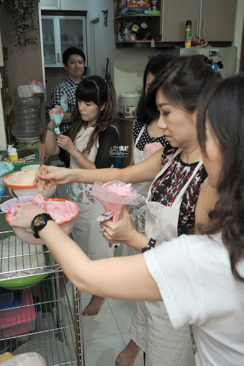 Refill Butter Cream at Spatula Baking Course by Myfunfoodiary