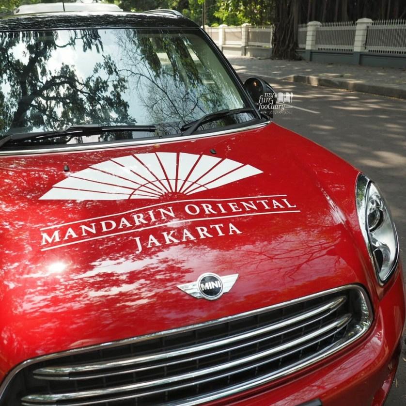 MINI Countryman experience by Mandarin Oriental Jakarta - by Myfunfoodiary