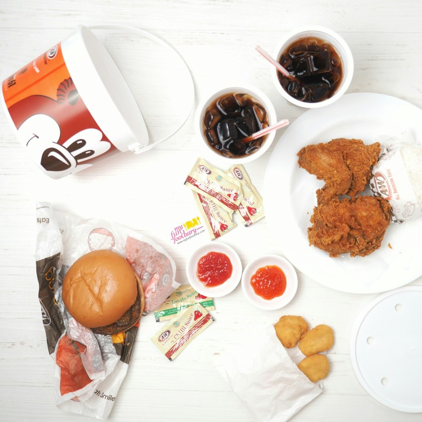 Picnic Barrel A&W Chicken via Foodpanda by Myfunfoodiary