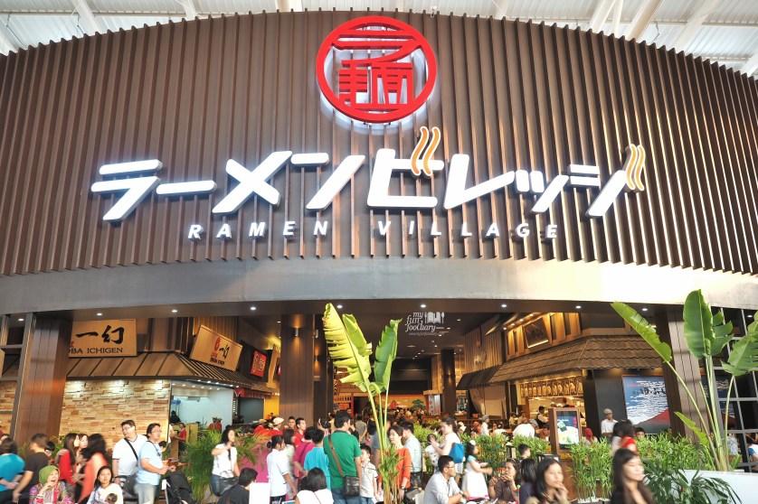 Ramen Village exterior at Aeon Mall by Myfunfoodiary