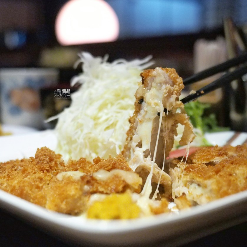 Senmai Katsu Cheese at Tontoki Restaurant MidPlaza by Myfunfoodiary