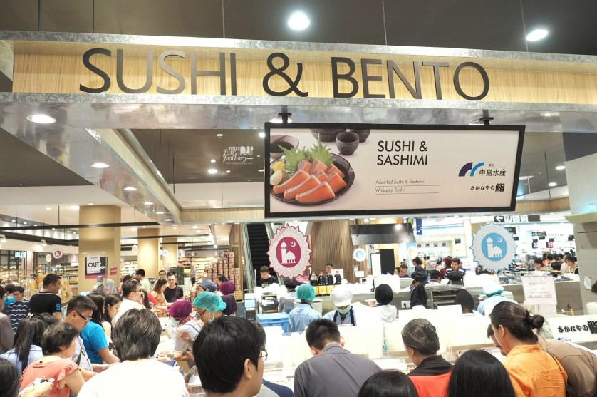 Sushi and Sashimi at Sushi and Bento Counter AEON Mall by Myfunfoodiary