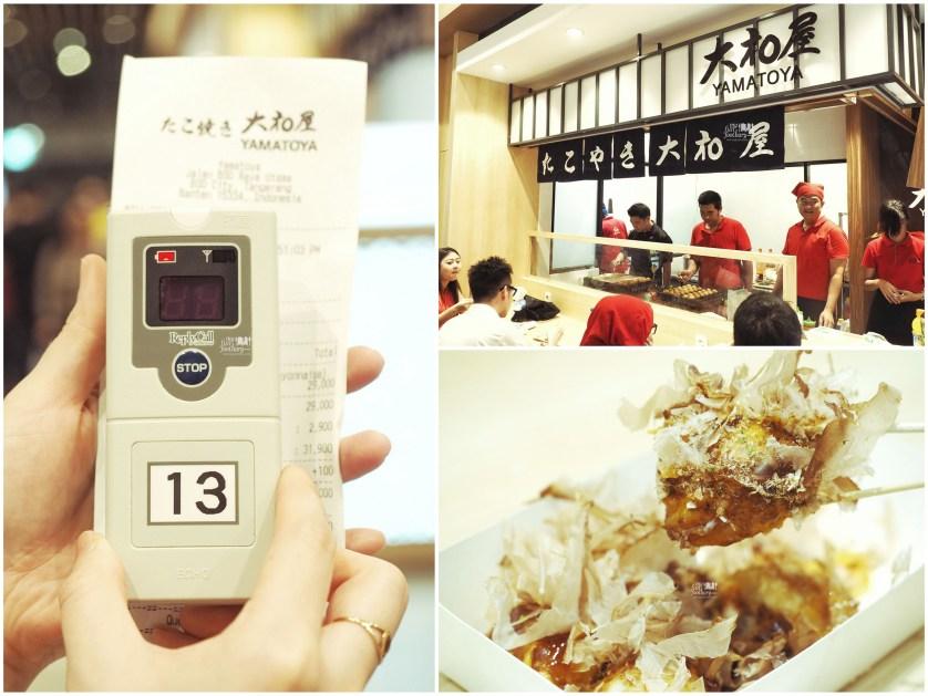 Takoyaki at Yamatoya at The Food Culture AEON Mall by Myfunfoodiary collage