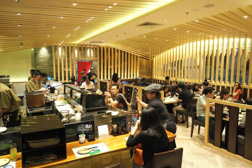 Suasana Itacho Sushi Grand Indonesia by Myfunfoodiary
