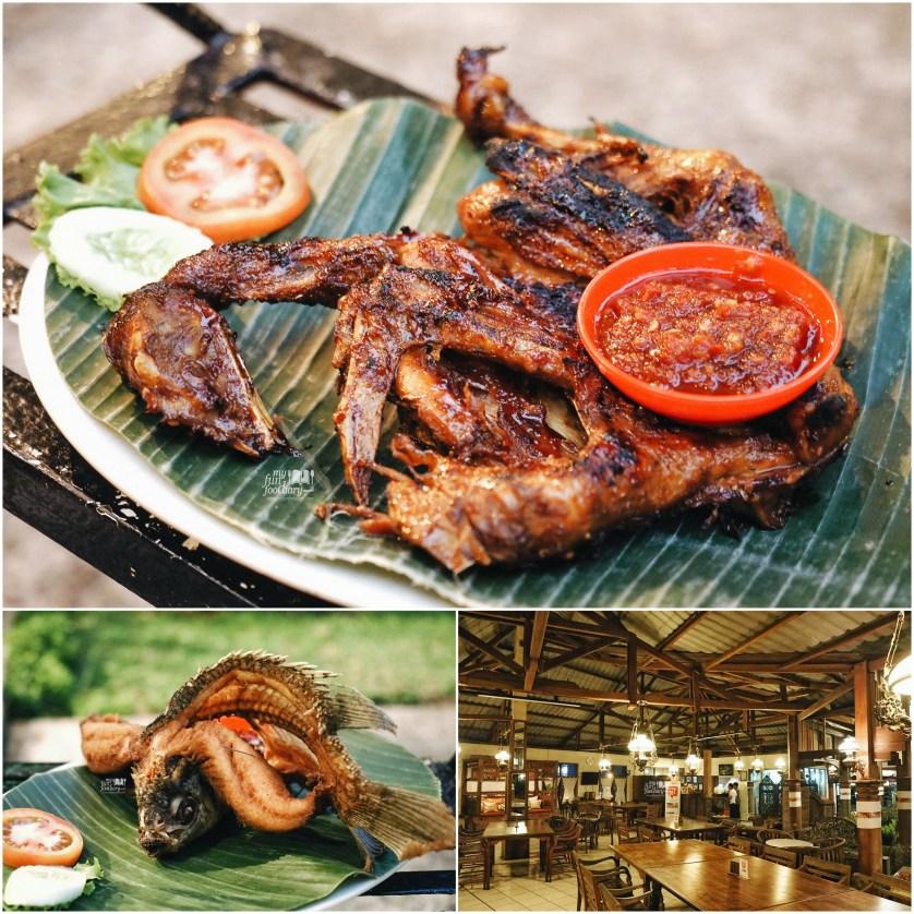Ayam Bekakak dan Ikan Gurame Goreng at Dulang Restaurant by Myfunfoodiary